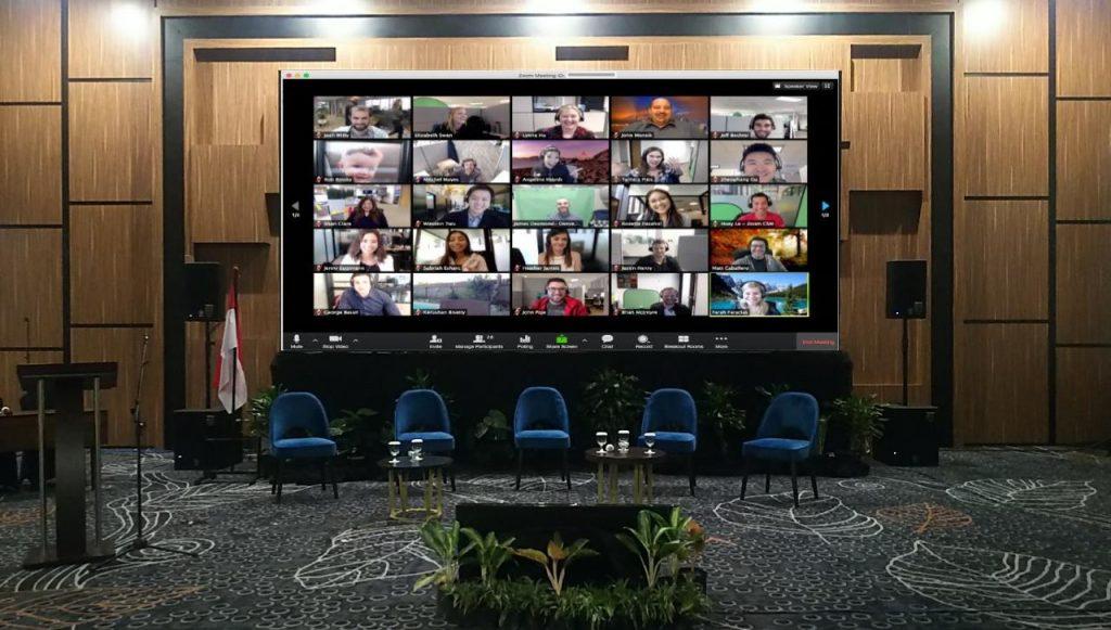 Jasa sewa video teleconference